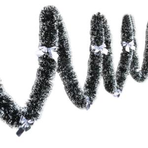 Vánoční girlanda podobě jehličnatých vetviček