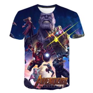 Dětské tričko s motivem superhrdiny