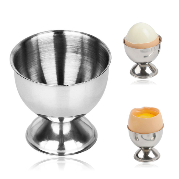 Nerezový stojánek na vejce