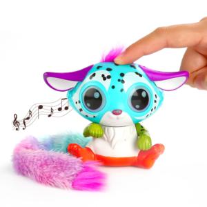 Elektrická hračka Color Fox se svítícíma očima