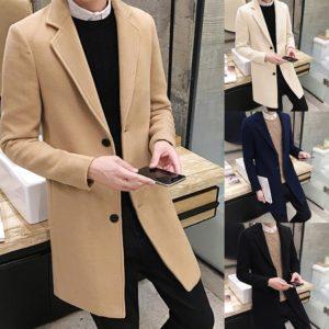Pánský stylový kabát Bostock