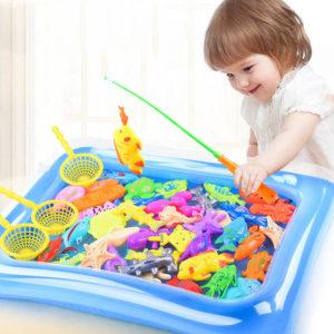 Úžasná dětská hra Chytání rybiček