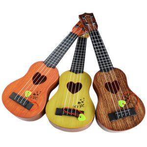 Dětské ukulele ve třech barvách
