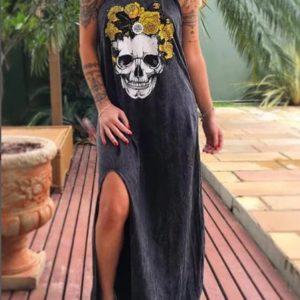 Dámské dlouhé šaty Giada