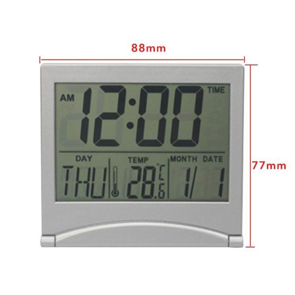 LED digitální stolní hodiny s různými funkcemi