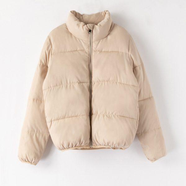 Dámská zimní prošívaná puffer bunda - více barev