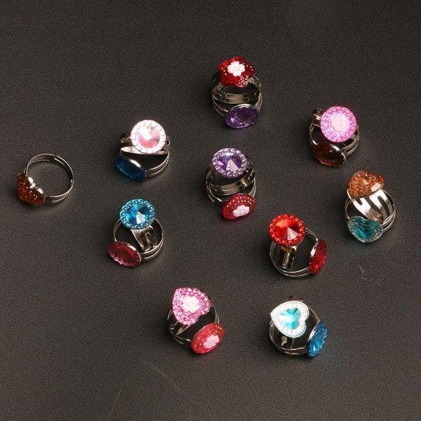 Sada kouzelných prstýnků pro malé princezny