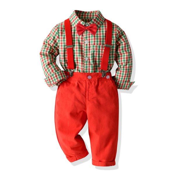 Vánoční oblek pro chlapce