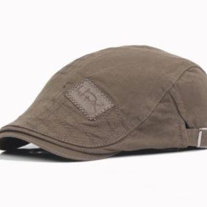 Pánská stylová čepice s kšiltem - bekovka