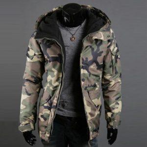 Pánská velmi teplá zimní bunda