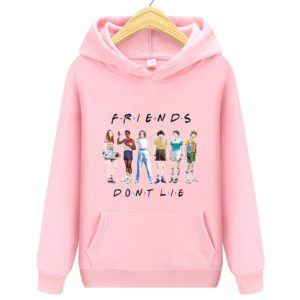 Mikina s kapucí Friends dont lie