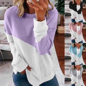 Dámské patchwork oversize tričko MERIDIN – více barev