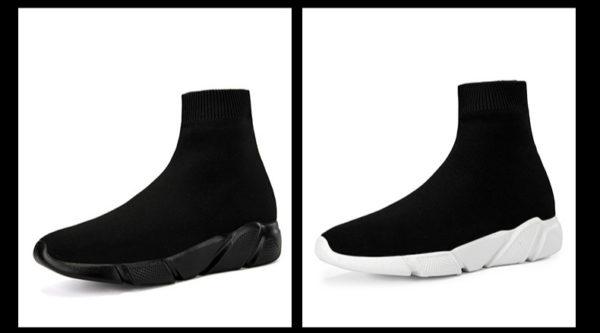Unisex ponožkové kotníkové boty