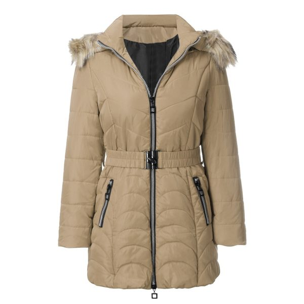 Dámský luxusní kabát Lena