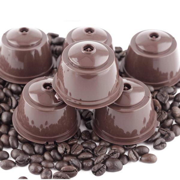 Opakovaně plnitelné kapsle na kávu