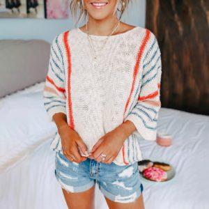 Dámský moderní svetr Nancy