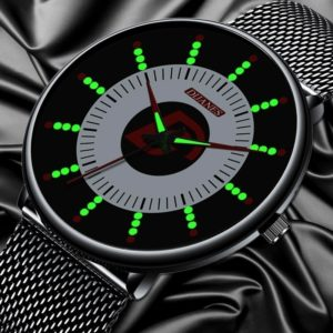 Pánské módní hodinky s fosforeskujícími ručičkami Jace