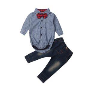 Dětská souprava s košilovým body