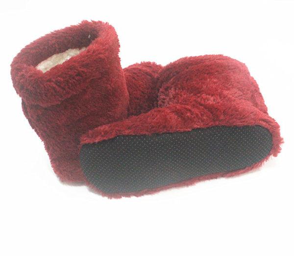 Dámské domácí zateplené pantofle