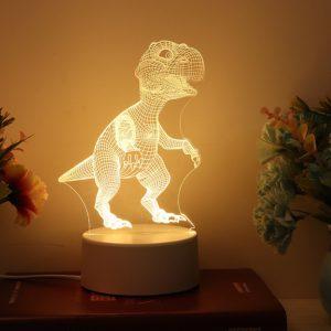 Noční led lampa 3D