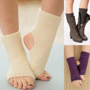 Dámské ponožky s volnou patou a prsty