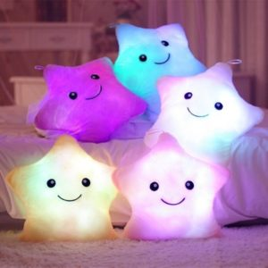Roztomilé dětské svítící polštářky – více druhů