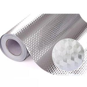 Kuchyňská olejivzdorná fólie Alumin