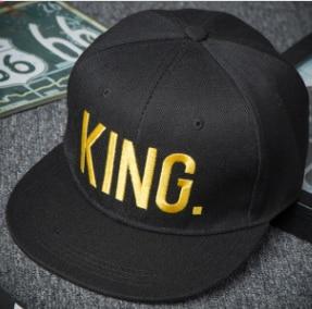 Kšiltovka s nápisem Queen a King