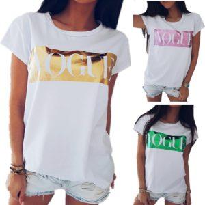 Dámské stylové tričko Luxury Fashion
