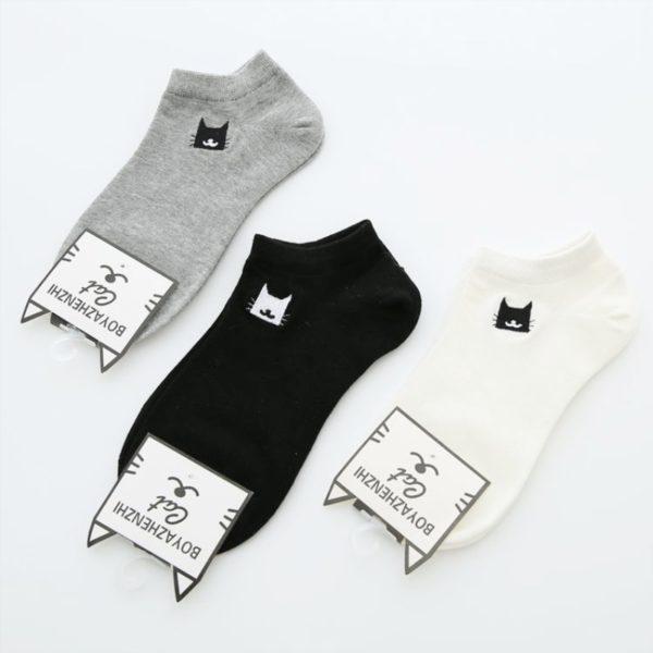Dámské ponožky s kočičkou