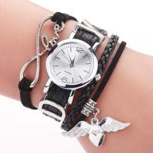 Luxusní set hodinky + náramky Love