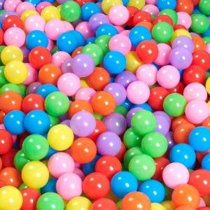 Plastové balónky pro děti ve dvou barevných variantách