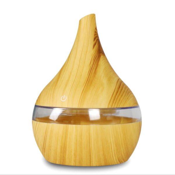 Stylový difuzér ze dřeva 300 ml