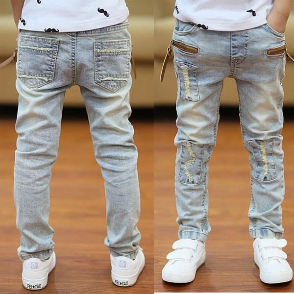Strečové džíny s elastickým pasem