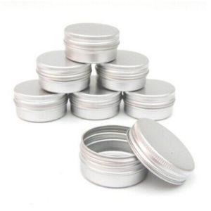 Kovové kelímky na domácí kosmetiku - 10 kusů