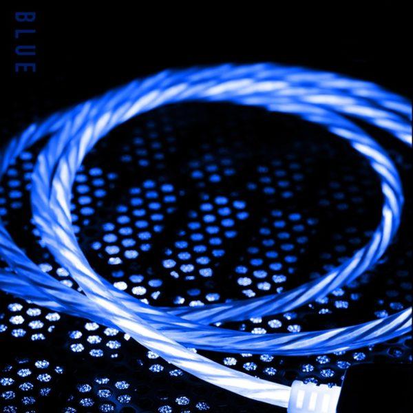 Led svítící nabíjecí kabel ProVers