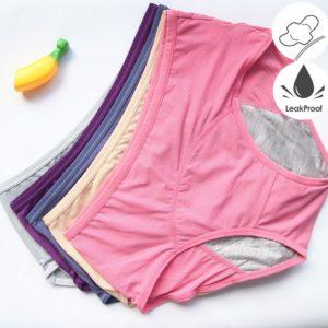 Dámské fyziologické menstruační kalhoty | sada 3 ks