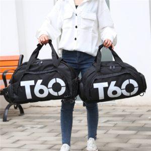 Fitness sportovní nepromokavá taška přes rameno