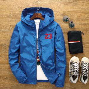 Pánská moderní stylová lehká bunda 23