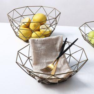 Kovová mísa na svačiny, ovoce či zeleninu