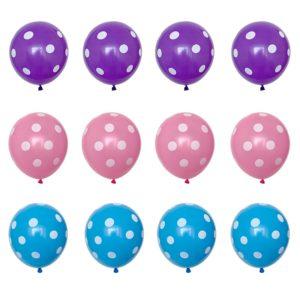 Balení párty balónků s puntíkama