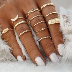 Luxusní sada dámských prstýnků - různé varianty