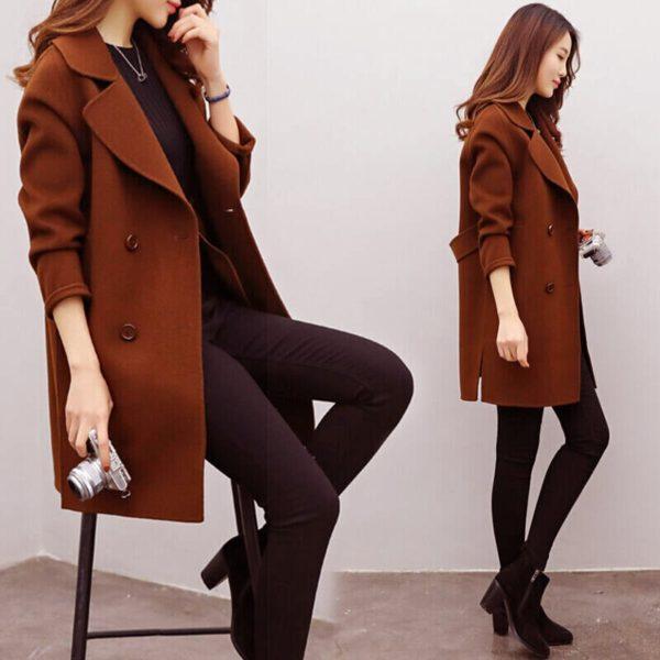 Dámský moderní kabát Daisy