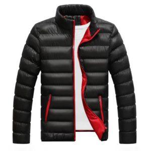 Pánská péřová zimní bunda
