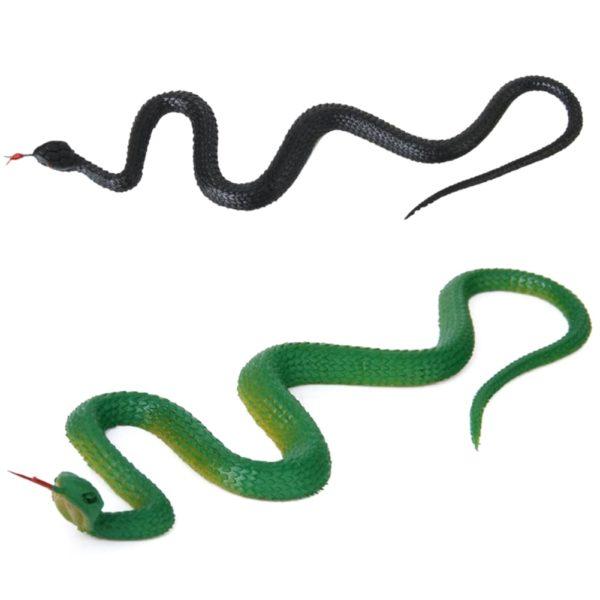 Realistický gumový had - falešné zvíře