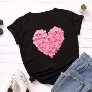 Designové dámské tričko Heart