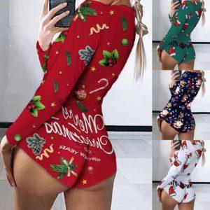 Dámský vánoční/zimní overal kombinézka – více druhů