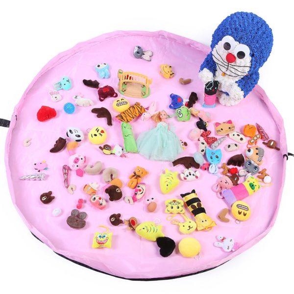 Hrací podložka pro děti - pytel na hračky