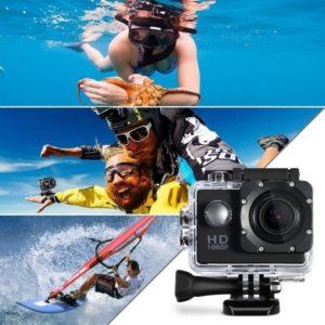 Digitální HD mini kamera s vodotěsným pouzdrem
