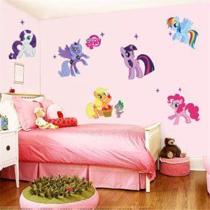 Samolepky na zeď My Little Pony